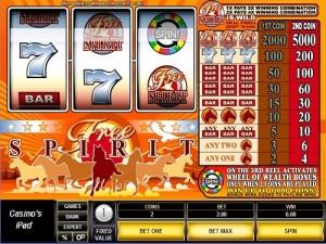 Free Spirit Wheel of Wealth